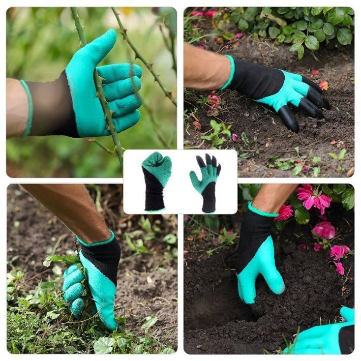 guantes para jardinería distintos usos