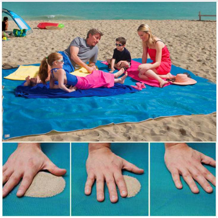 La Manta De Playa Sin Arena Ideal Para Las Próximas Vacaciones