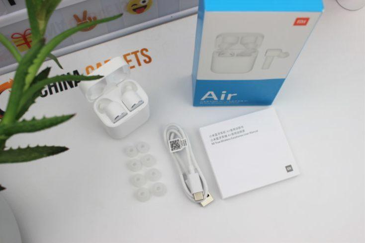 Paquete y accesorios de los Mi AirDots Pro