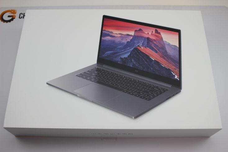 Caja del Xiaomi Mi Notebook Pro