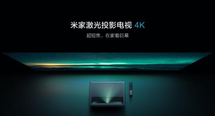 Xiaomi Mijia 4K Proyector de Corta distancia