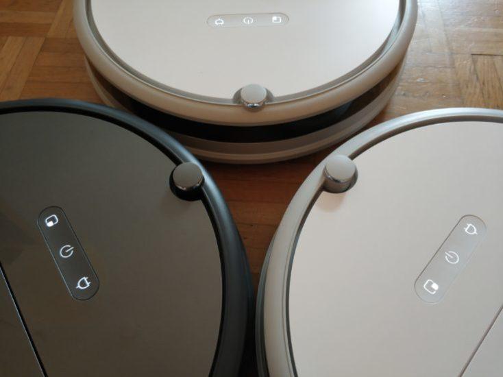 Distintos modelos de Xiaowa C10,, E20 y E35