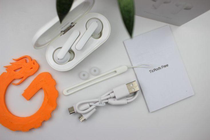 Accesorios de los Auriculares inalámbricos In Ear Mobvoi TicPods Free