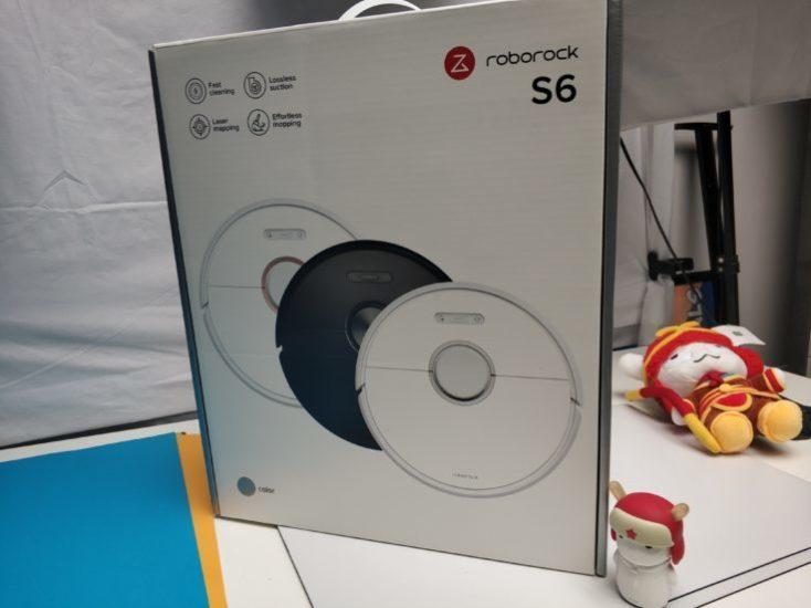 caja del Xiaomi Roborock S6