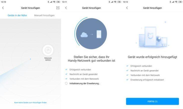 Vincular el Xiaomi Roborock S6 con la aplicación