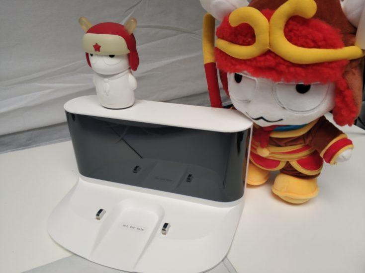 estacion de carga del Xiaomi Roborock S6