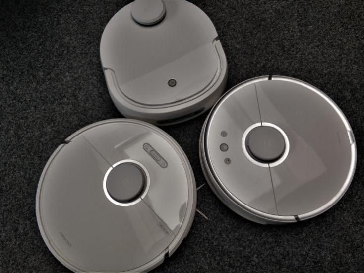 rOBROCK s6 Y s50 Y SOBRE ELLOS EL ROBOT ASPIRADOR DE nARWAL ROBOTICS.
