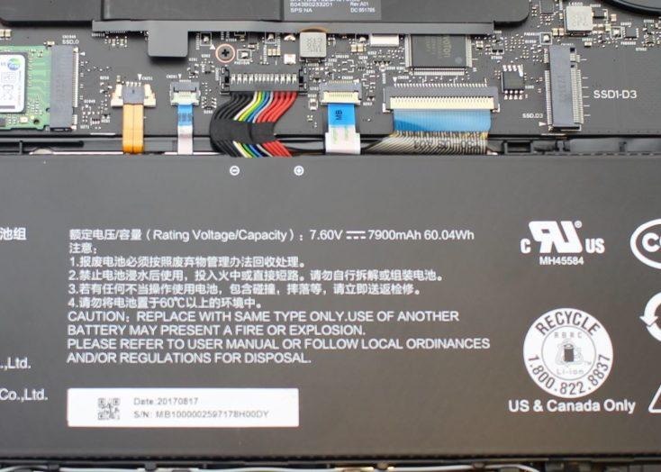 Batería del Xiaomi Mi Notebook Pro