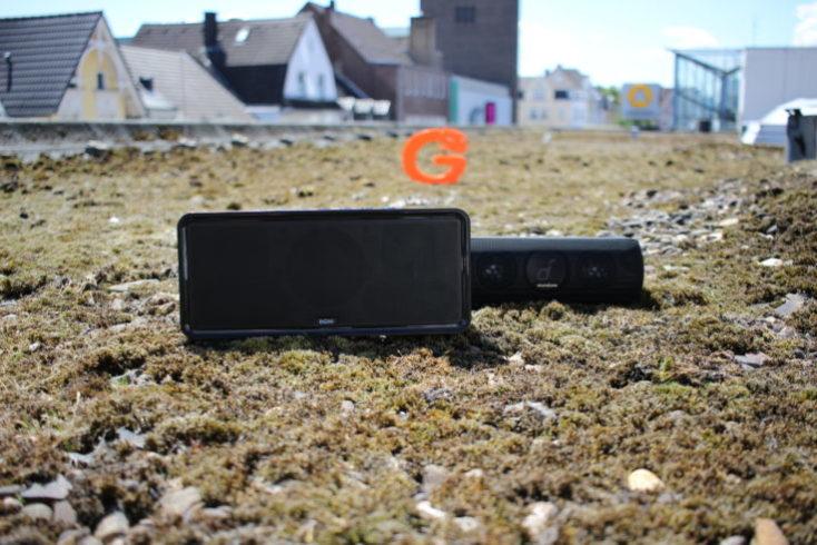 Altavoz bluetooth Anker Soundcore Motion + y el Doss Soundbox XL