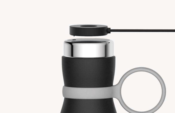 Cable cargador de la Botella de agua inteligente