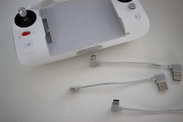 Mando a distancia y cables del mando del Drone FIMI X8 SE