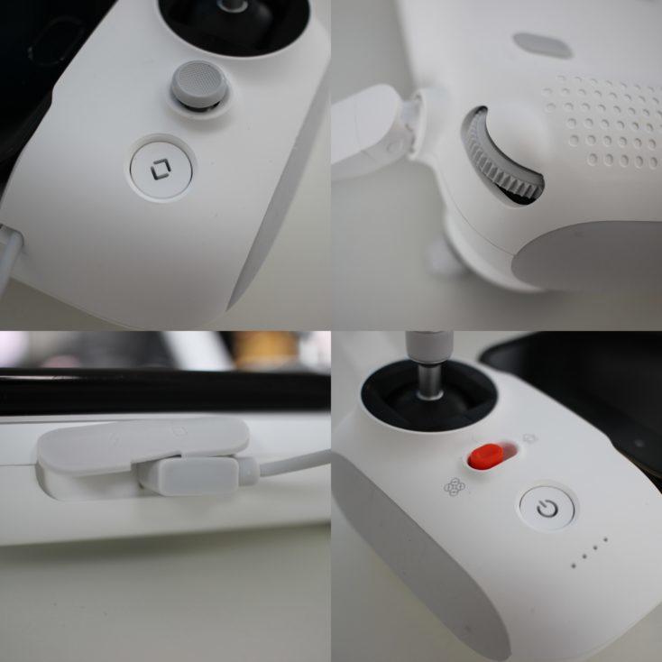 Todos los botones del mando del Drone FIMI X8 SE