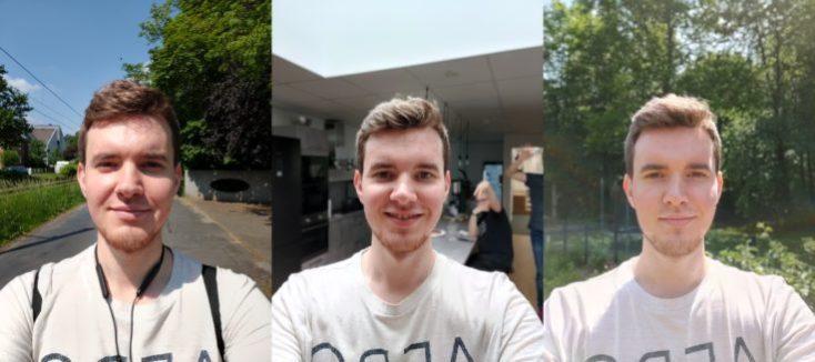 Selfies con la cámara frontal del One Plus 7 Pro
