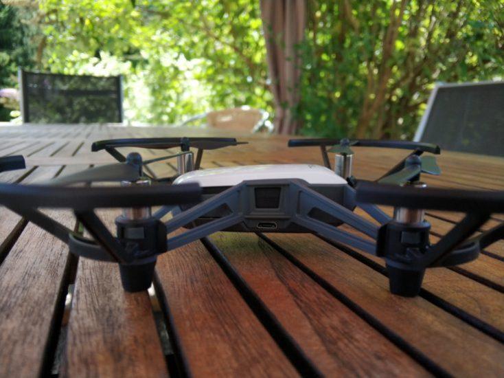 Puertos del Drone Ryze Tello