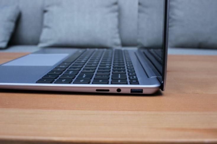 Acabado ddel Notebook Teclast F7 Plus