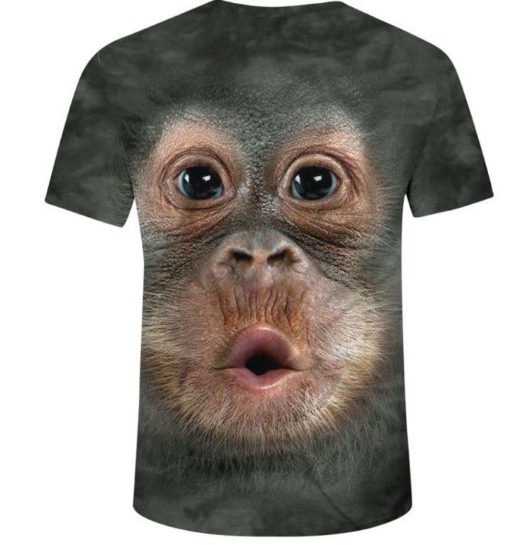 Camiseta de mono