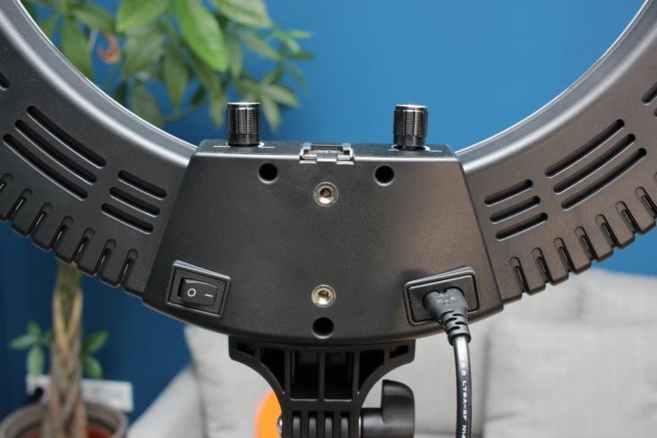 Botones reguladores del Anillo de luz para fotografía Craphy