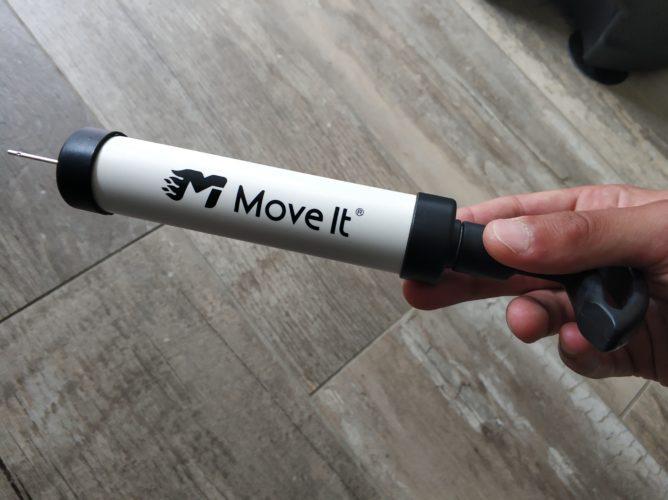 Bomba de aire para la Bola de boxeo inteligente MoveItSpeed