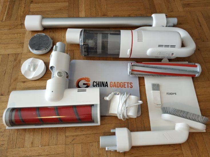 Accesorios de la Aspiradora inalámbrica Roidmi F8