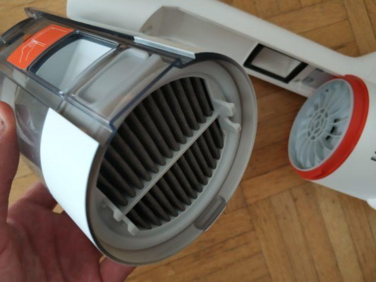 Filtro HEPA de la Aspiradora inalámbrica Roidmi F8