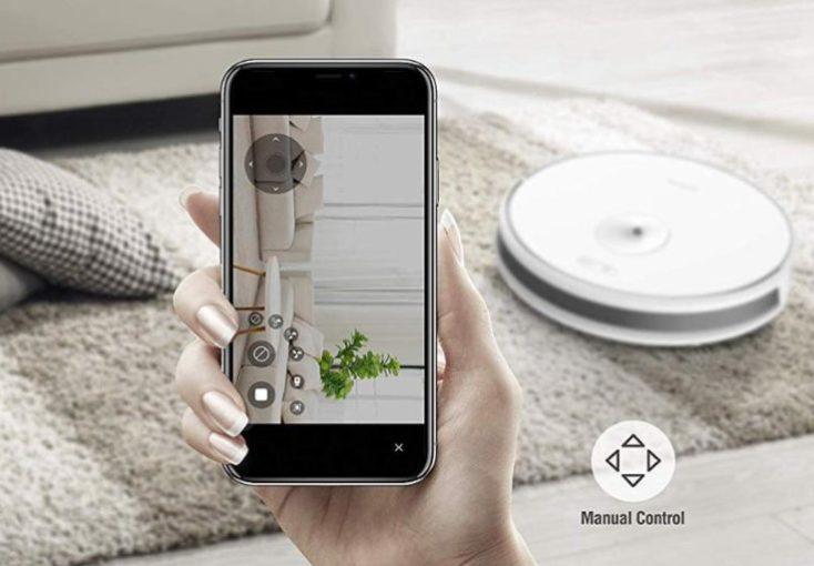 Imagenes de la cámara del Robot aspirador Trifo Ironpie M6 en la App