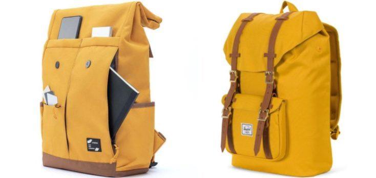 Mochila 90Fun de Xiaomi Youpin en comparación con la mochila de Herschel
