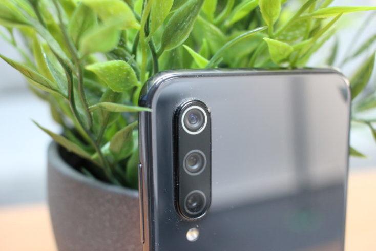 Cámara triple del Xiaomi Mi 9 SE