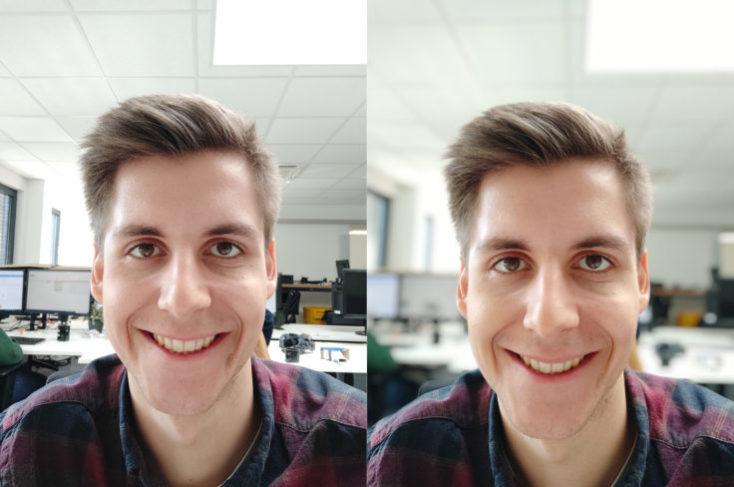 Selfies con la cámara frontal del Xiaomi Mi 9 SE