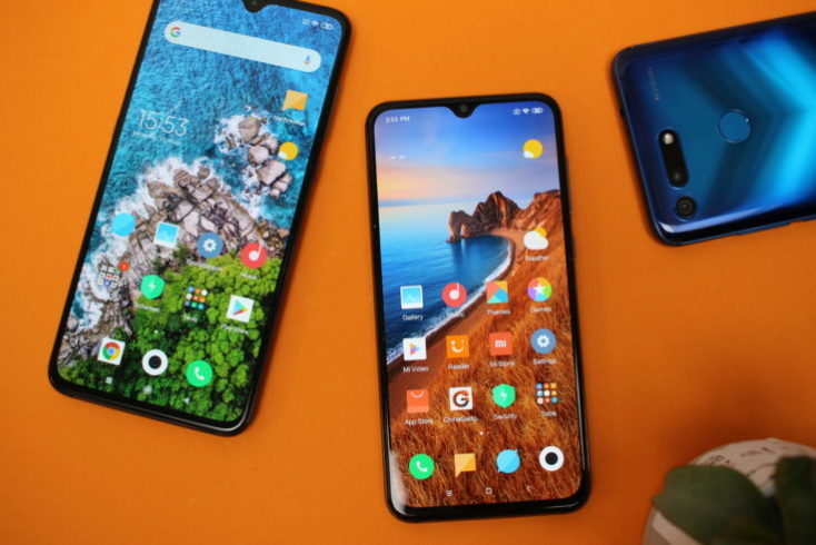 Xiaomi Mi 9 SE vs. Xiaomi Mi 9 y Honor View 20
