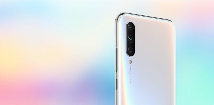 Cámara del Xiaomi Mi A3 blanco