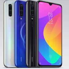 Xiaomi Mi CC9 en diferentes colores