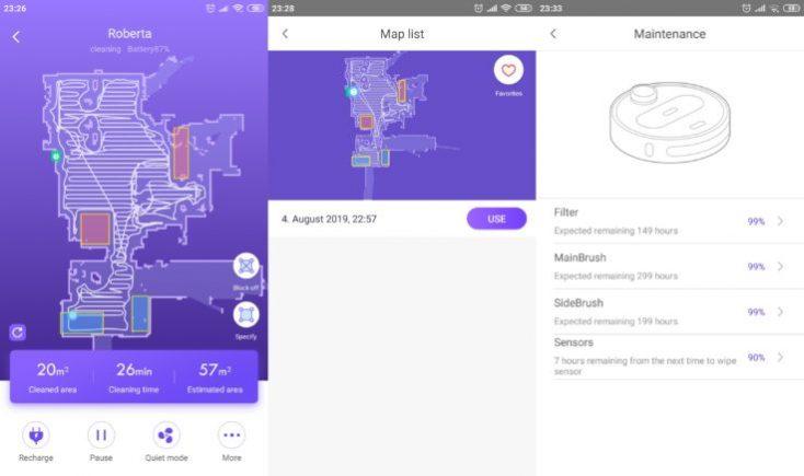 Almacenamiento de mapas en la App