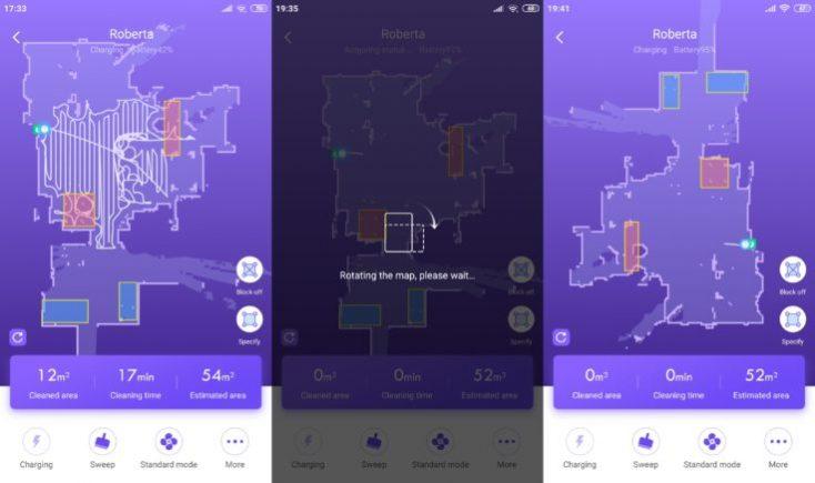 Mapeo en la app y zonas prohibidas