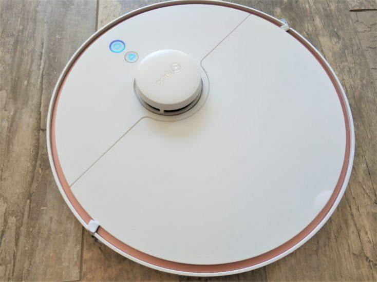 Diseño del robot aspirador 360 S7
