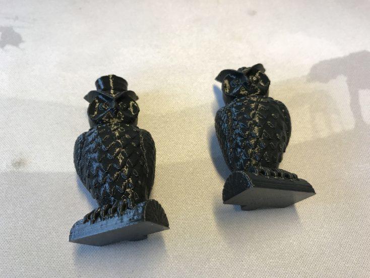 Impresión 3D de búhos con la Primera impresión 3D de búhos con la Anycubic I3 Mega