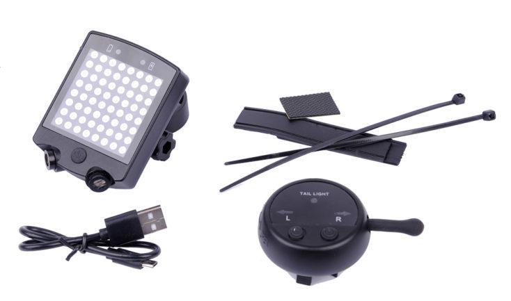 Accesorios de la luz inteligente para bicicleta
