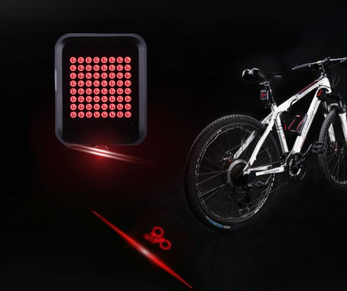 Línea láser de la luz inteligente para bicicleta