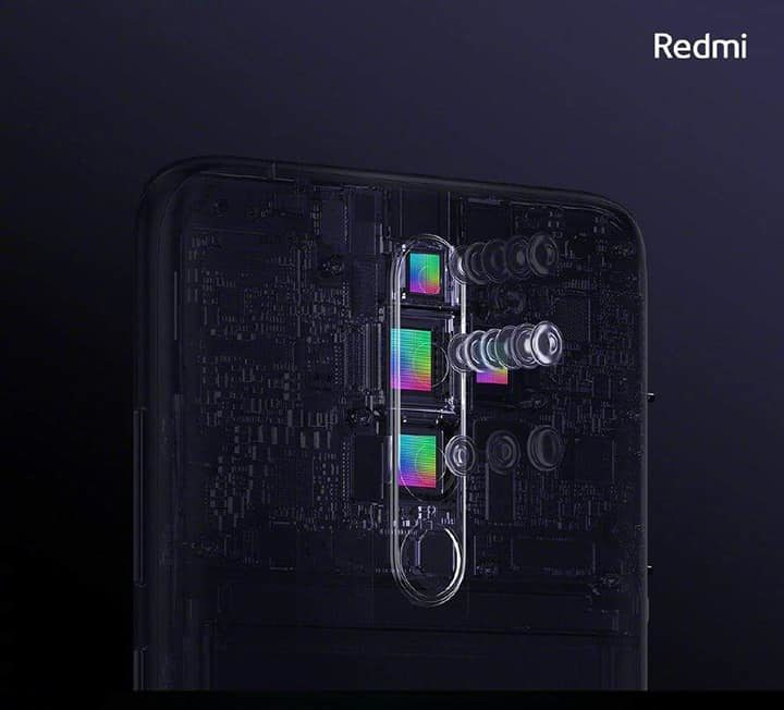 Redmi Note 8 Pro con cámara cuádruple