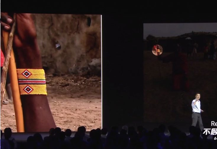 Foto de muestra del Redmi Note 8 Pro con zoom de la presentación oficial