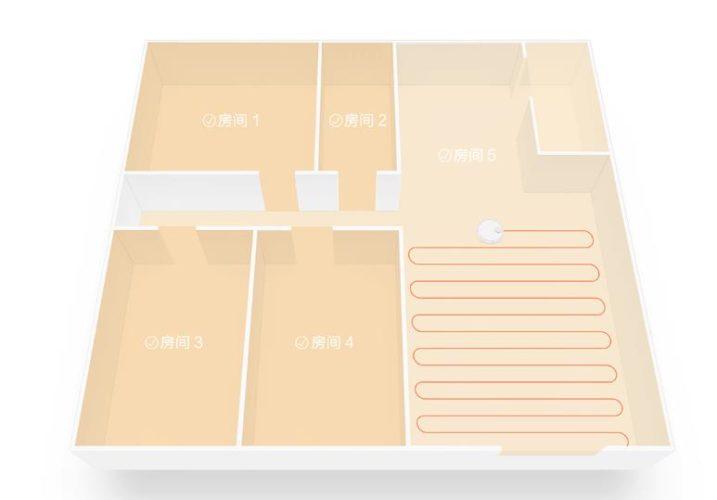 Selección de orden de la limpieza de las habitaciones
