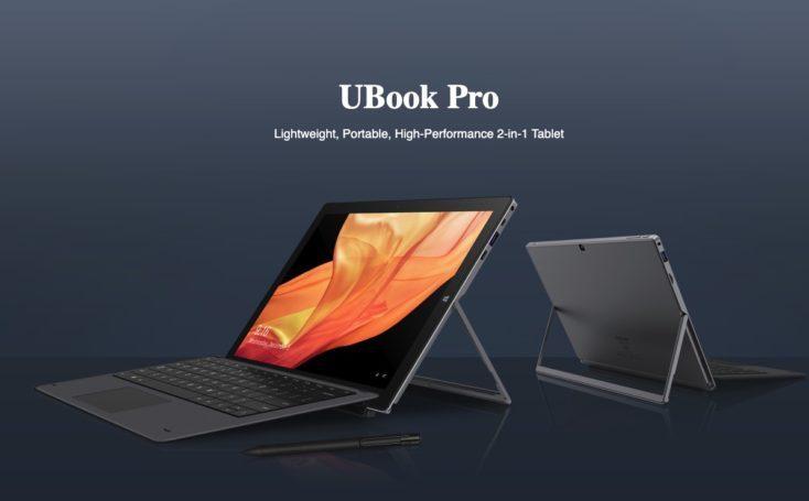 Chuwi UBook Pro con teclado