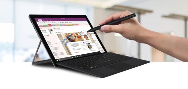 Chuwi Ubook Pro con teclado y lápiz
