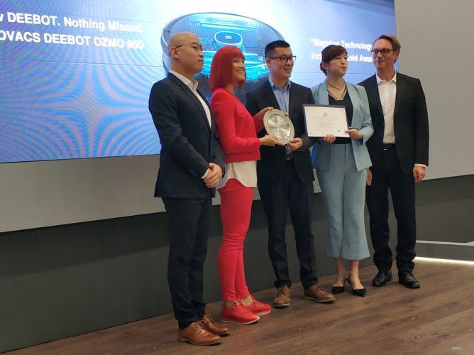 Premio al sistema de mapeo de Ecovacs