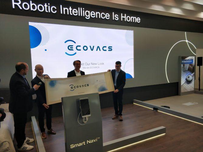 nuevo logo de Ecovacs