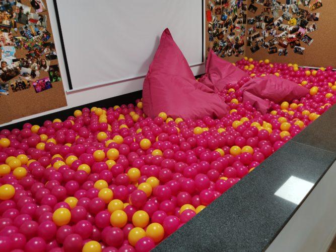 Foto de prueba de la piscina de bolas