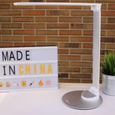 Lámpara de escritorio y panel Made in China
