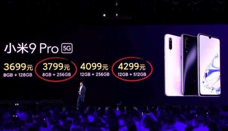 Precios del Xiaomi Mi 9 Pro