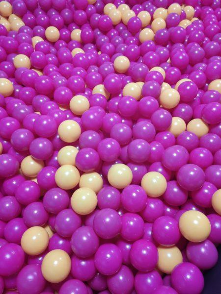 Foto de pruba de la piscina de bolas
