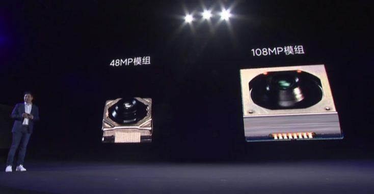Sensores de 48MP y 108 MP del Mi Mix Alpha