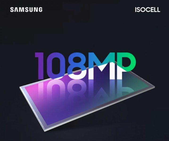 Sensor Iscoell de Samsung, cámara de 108 MP